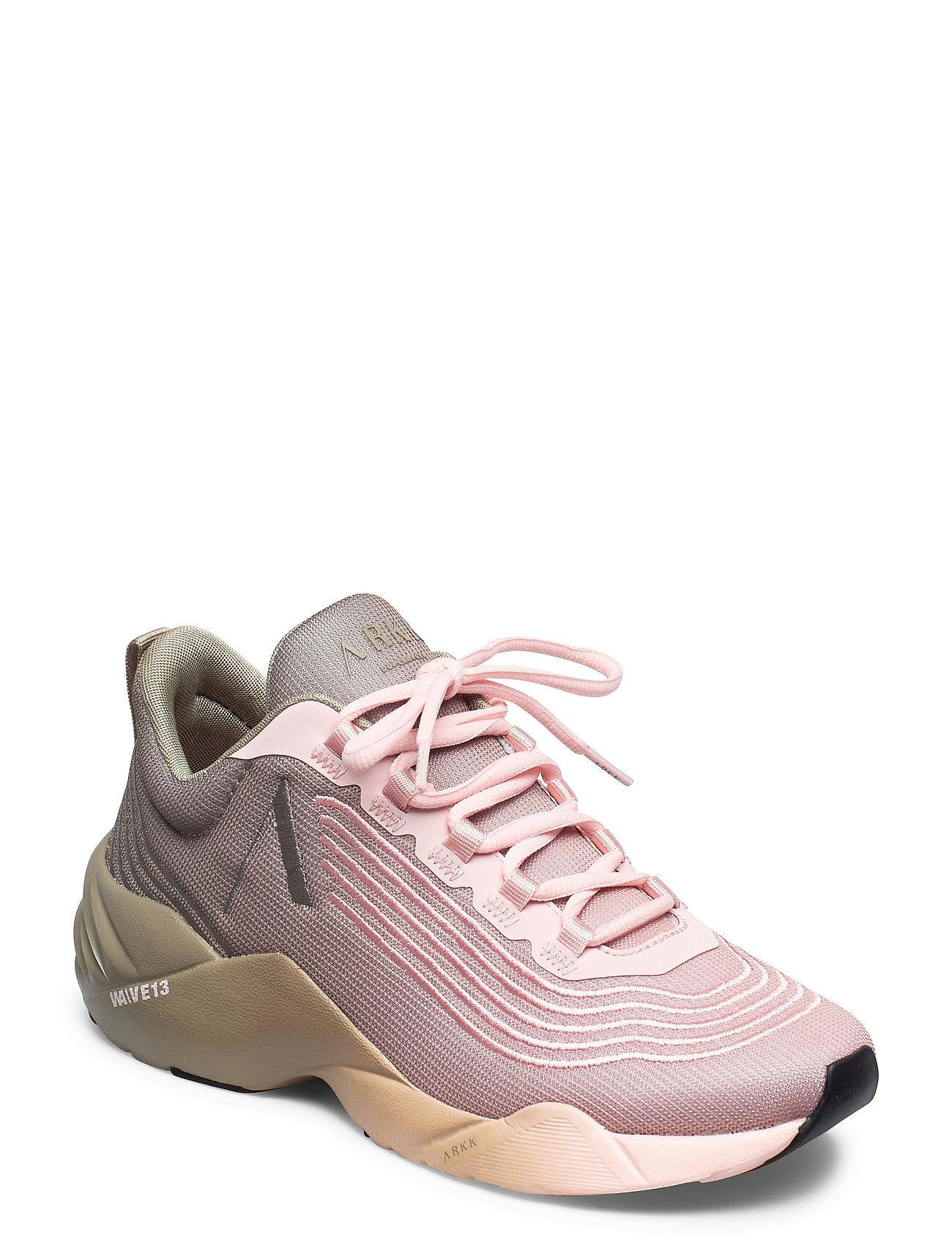 ARKK Copenhagen Avory Mesh W13 Soft Army Seashell P Matalavartiset Sneakerit Tennarit Vaaleanpunainen ARKK Copenhagen
