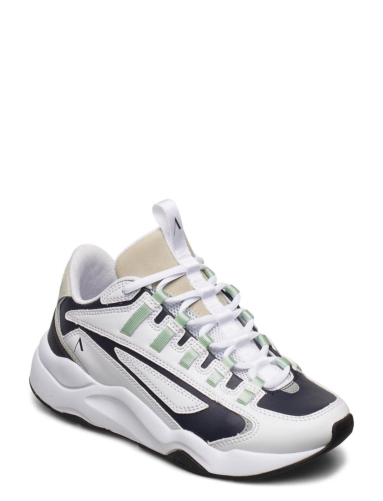ARKK Copenhagen Apaze Leather F-Pro 90 White Silver Matalavartiset Sneakerit Tennarit Valkoinen ARKK Copenhagen
