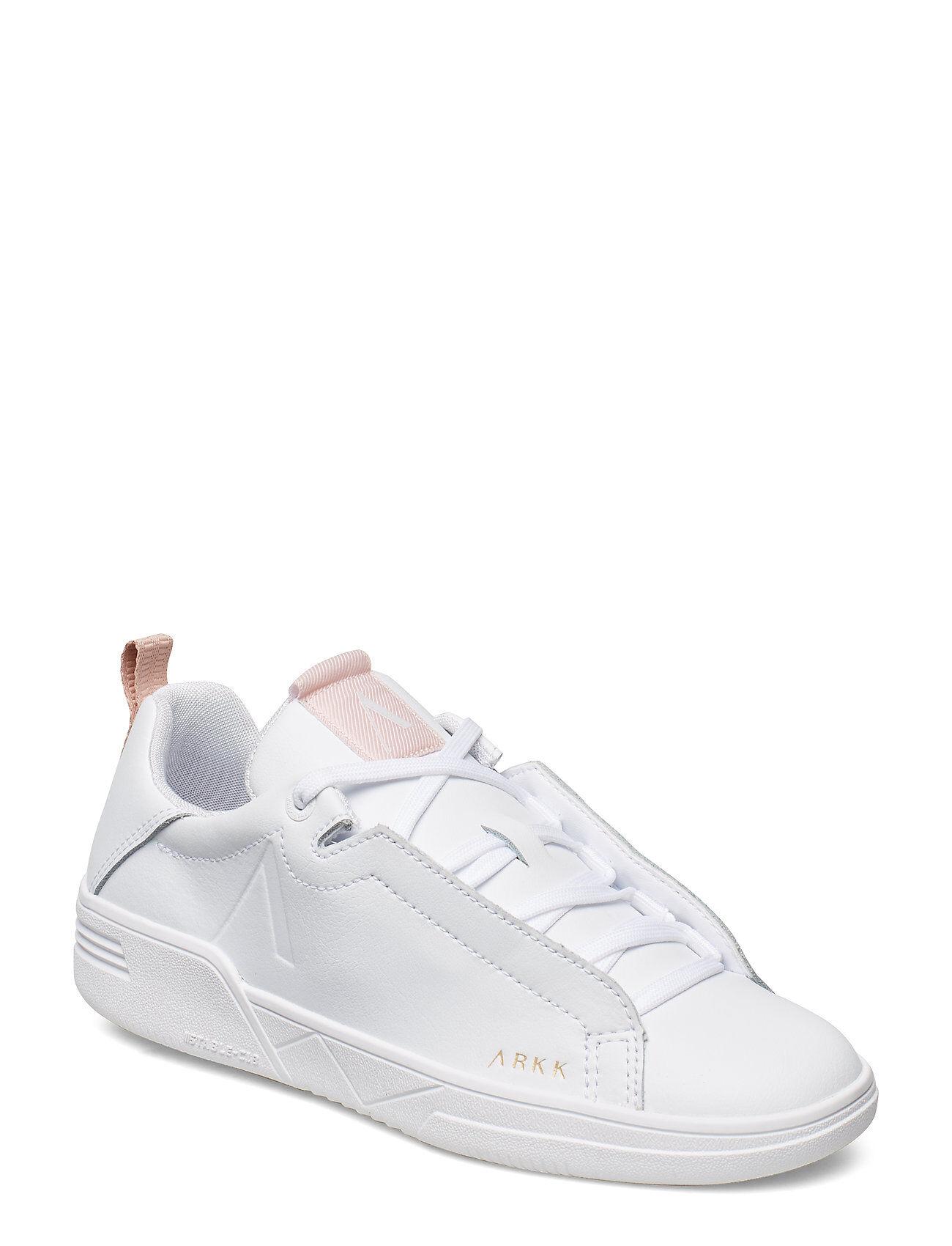 ARKK Copenhagen Uniklass Leather S-C18 White Shell Matalavartiset Sneakerit Tennarit Valkoinen ARKK Copenhagen
