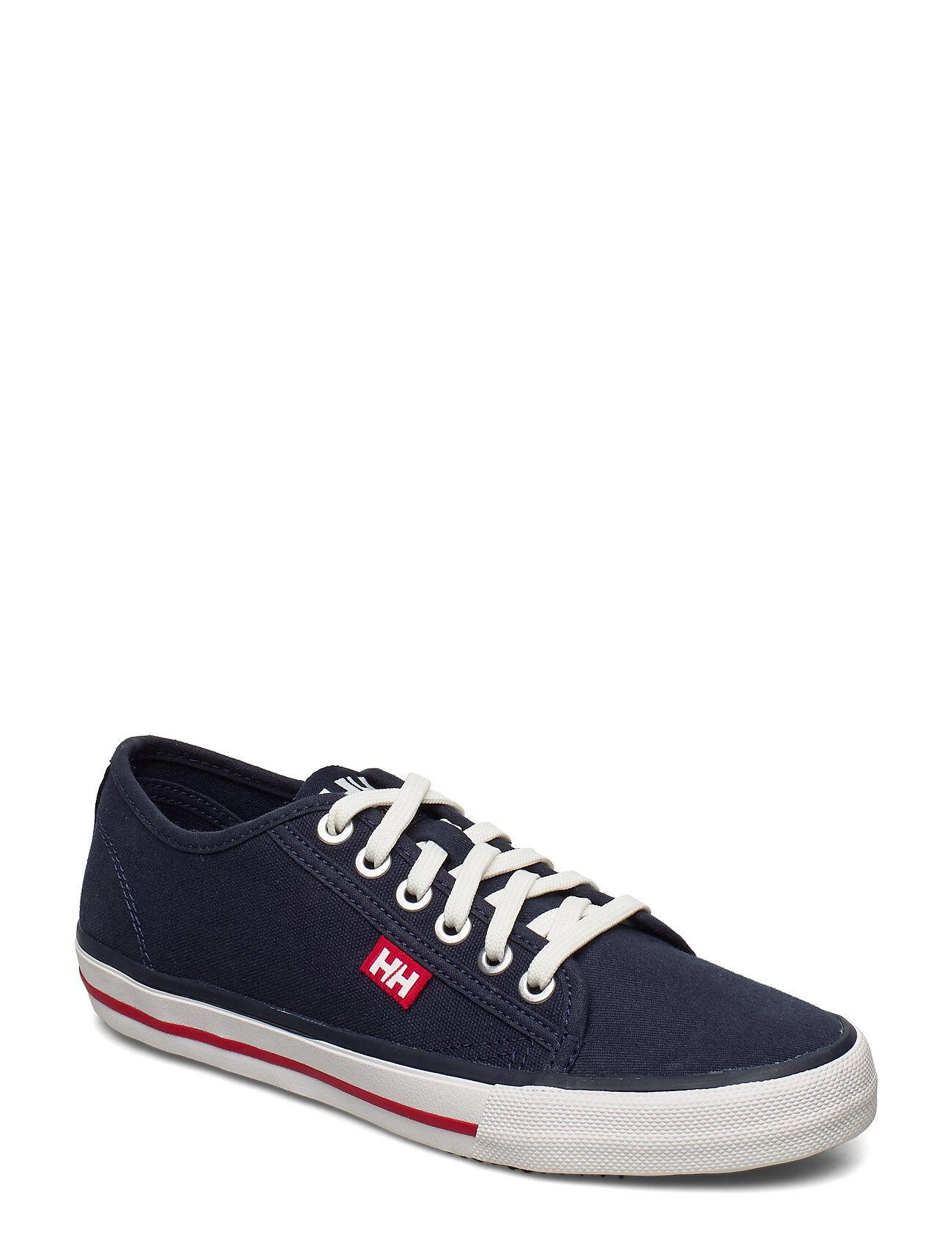 Image of Helly Hansen W Fjord Canvas Shoe V2 Matalavartiset Sneakerit Tennarit Sininen Helly Hansen