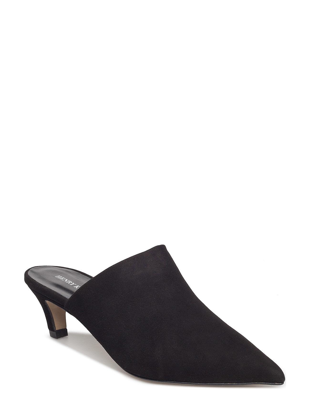 Henry Kole Lily Shoes Heels Pumps Classic Musta Henry Kole