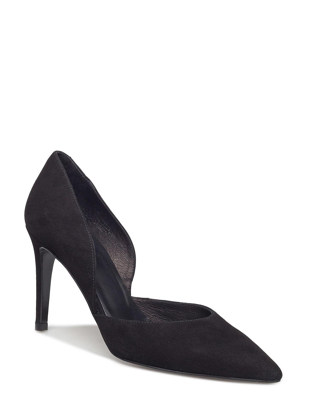 Henry Kole Bianca Shoes Heels Pumps Classic Musta Henry Kole