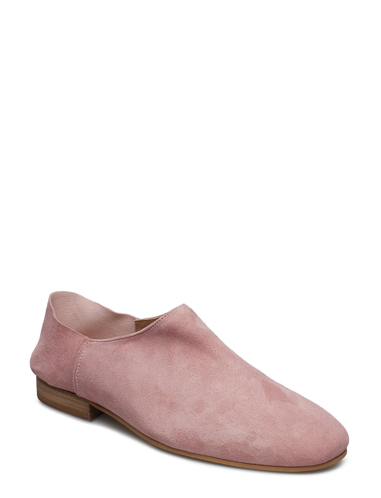 Henry Kole Ellen Suede Pink Loaferit Matalat Kengät Vaaleanpunainen Henry Kole