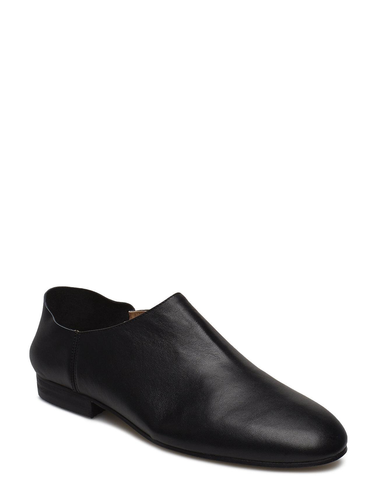 Henry Kole Ellen Leather Black Loaferit Matalat Kengät Musta Henry Kole