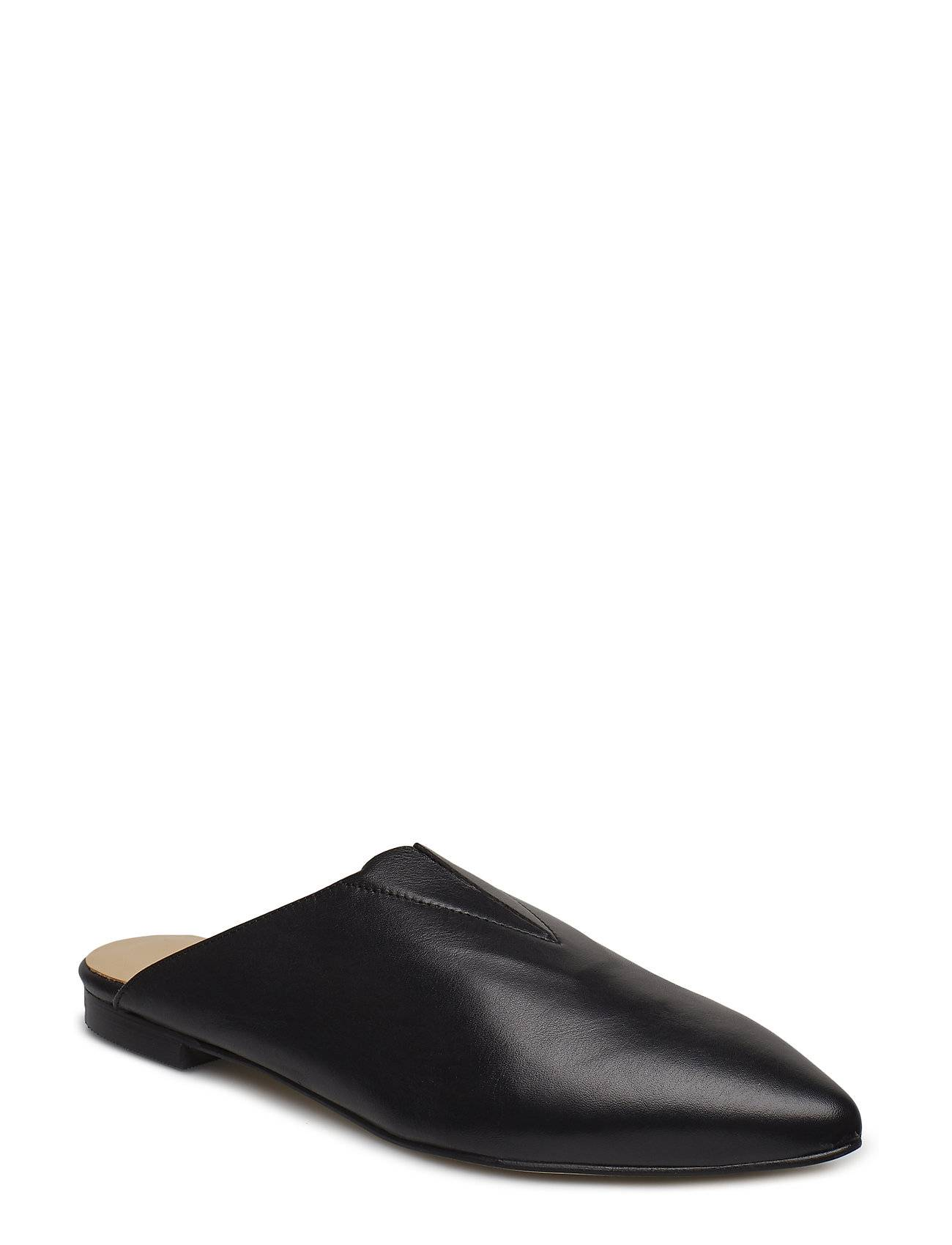Henry Kole Alek Leather Black Matalapohjaiset Sandaalit Musta Henry Kole