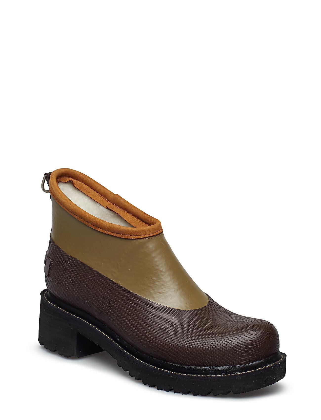Ilse Jacobsen Short Rubber Boot Kumisaappaat Kengät Ruskea
