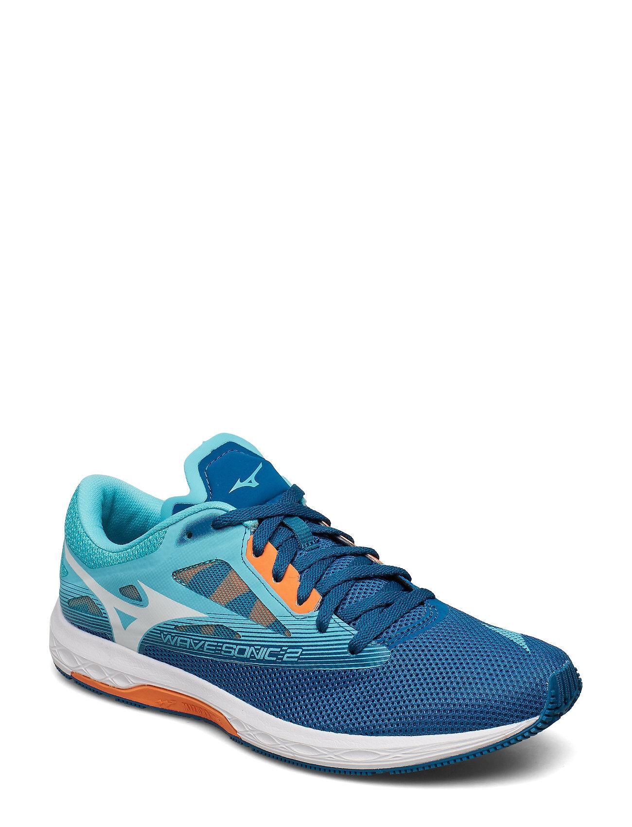 Mizuno Wave Sonic 2 Shoes Sport Shoes Running Shoes Sininen