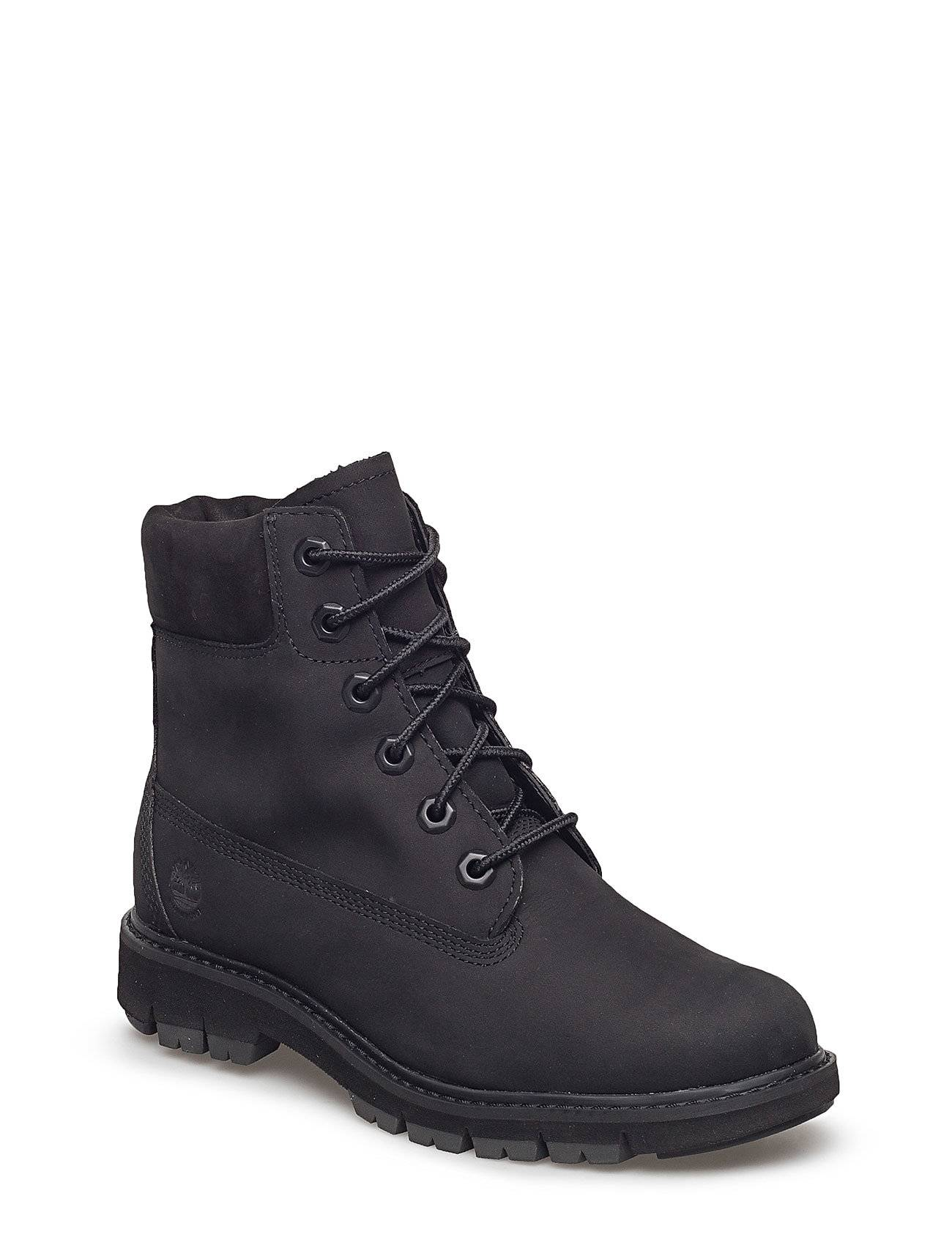 Timberland Lucia Way 6in Boot Wp Shoes Boots Ankle Boots Ankle Boot - Flat Musta Timberland