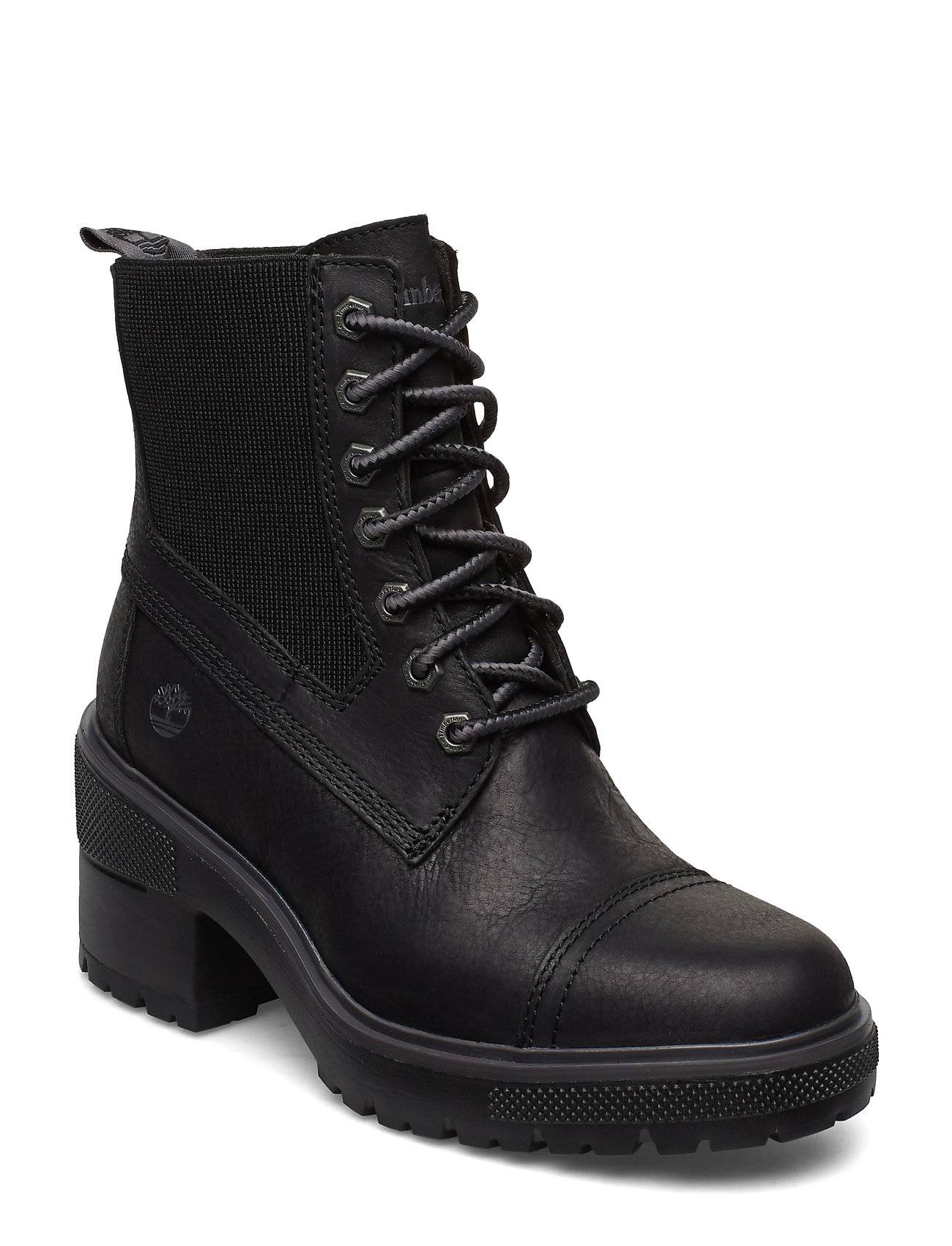 Timberland Silver Blossom Mid Bootie Shoes Boots Ankle Boots Ankle Boots With Heel Musta