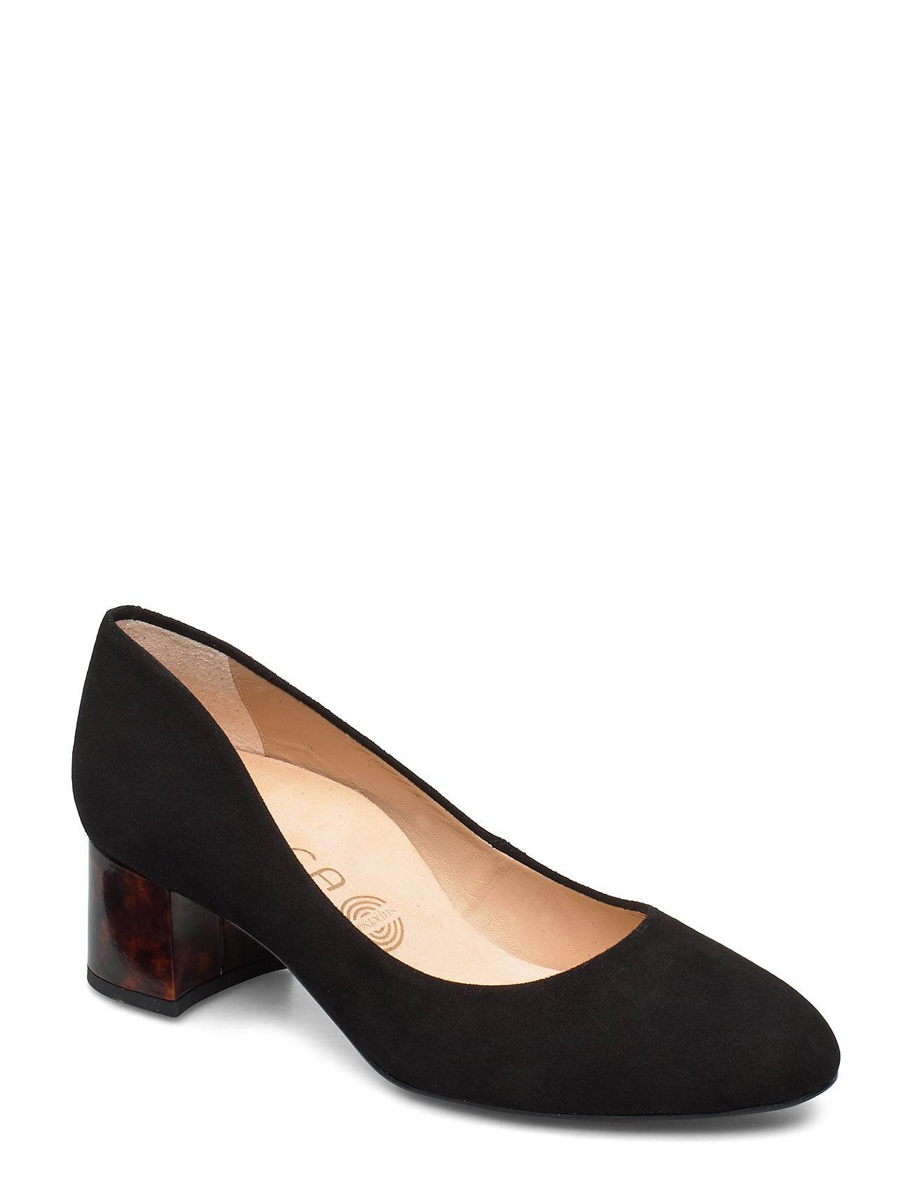 UNISA Lasie_f19_ks_car Shoes Heels Pumps Classic Musta UNISA