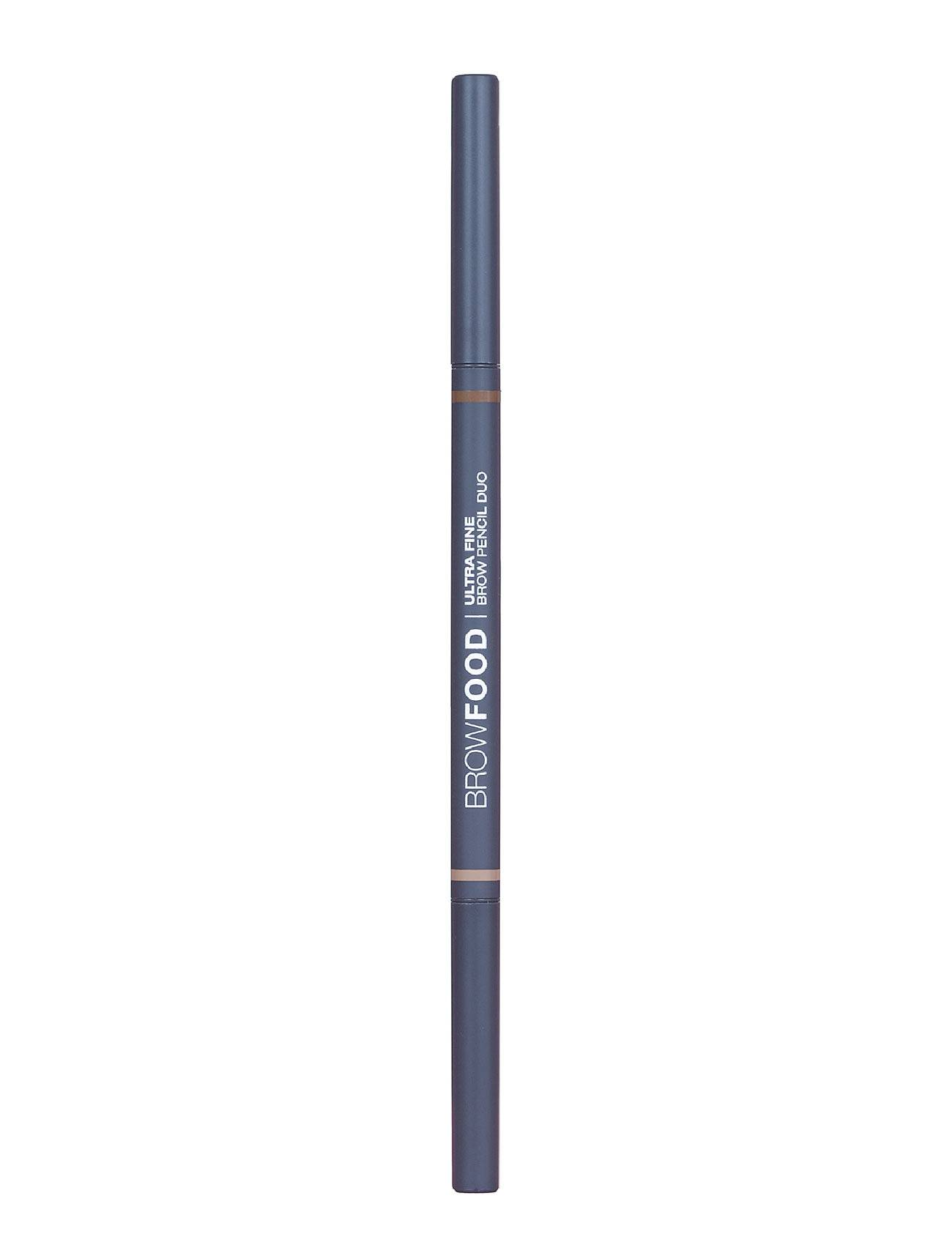 LashFood Browfood Ultra Fine Pencil Duo Kulmakynä Meikki Ruskea LashFood