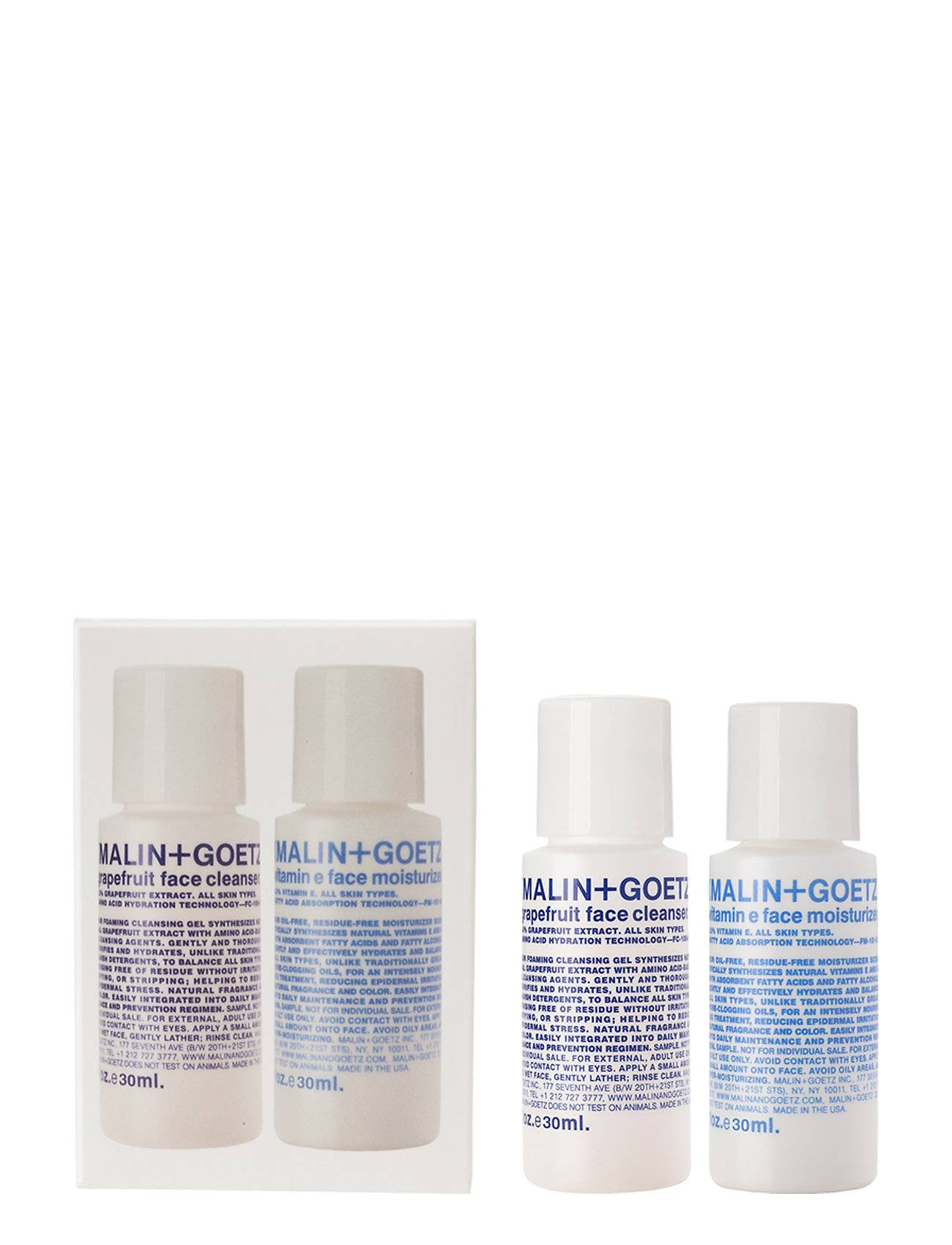 Malin+Goetz Face Essentials Duo Ihonhoitosetti Nude Malin+Goetz