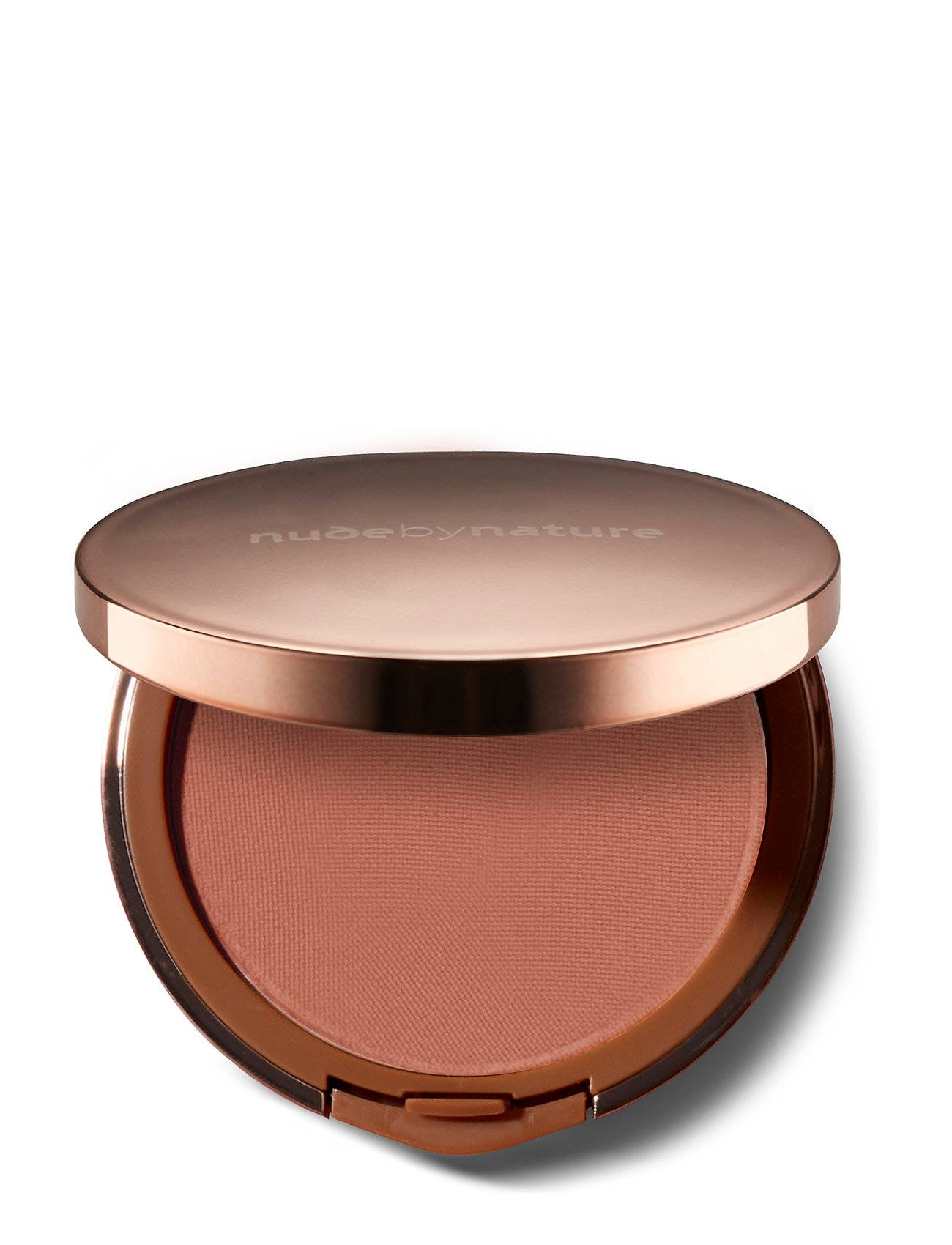 Nude by Nature Cashmere Pressed Blush Desert Rose Beauty WOMEN Makeup Face Blush Vaaleanpunainen Nude By Nature