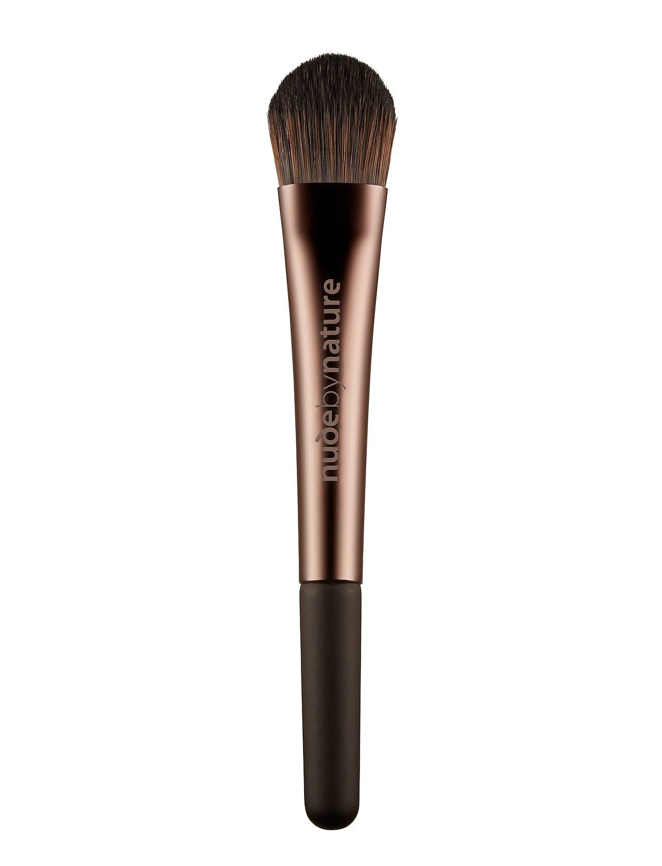 Nude by Nature Brushes 02 Liquid Foundation Brush Beauty WOMEN Makeup Makeup Brushes Face Brushes Nude Nude By Nature