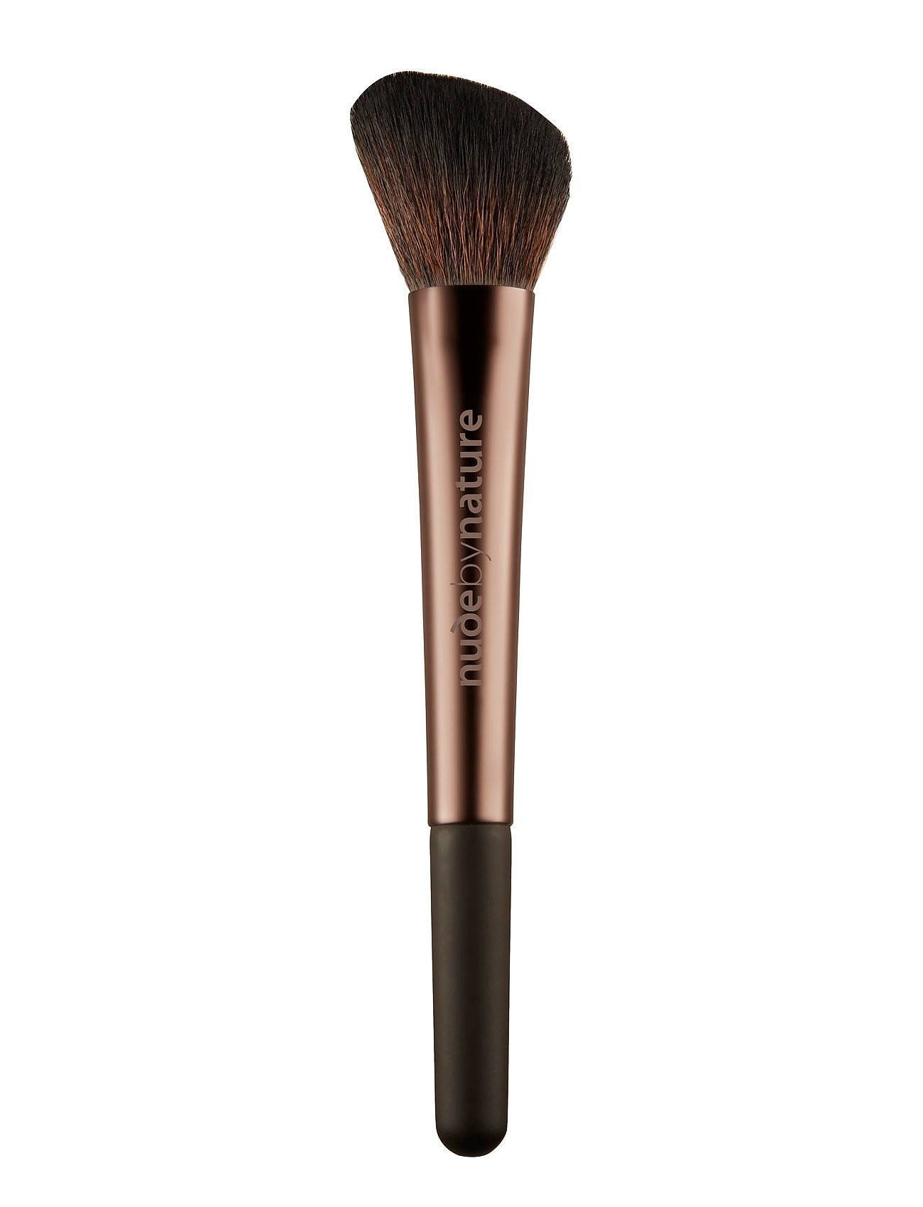 Nude by Nature Brushes 06 Angled Blush Brush Beauty WOMEN Makeup Makeup Brushes Face Brushes Nude Nude By Nature