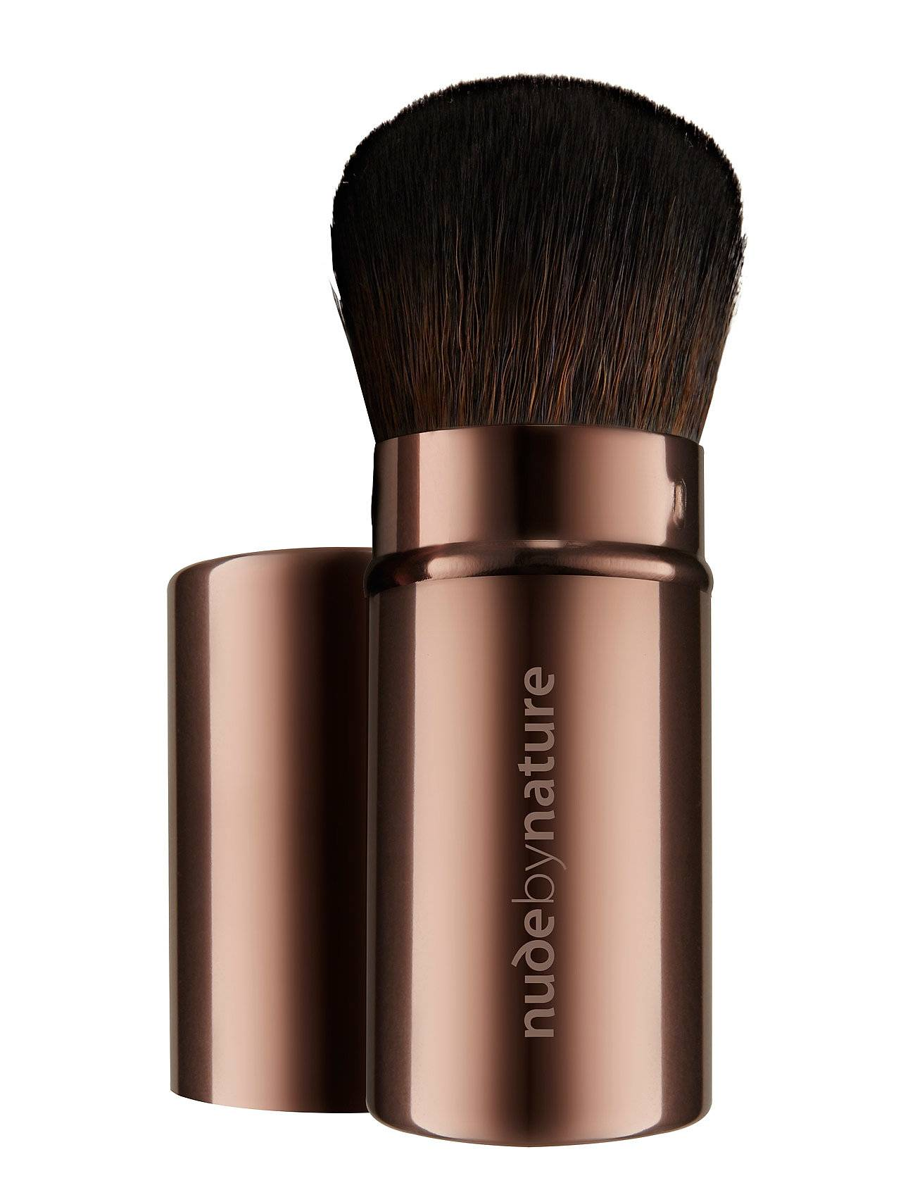 Nude by Nature Brushes 10 Travel Brush Beauty WOMEN Makeup Makeup Brushes Face Brushes Nude Nude By Nature