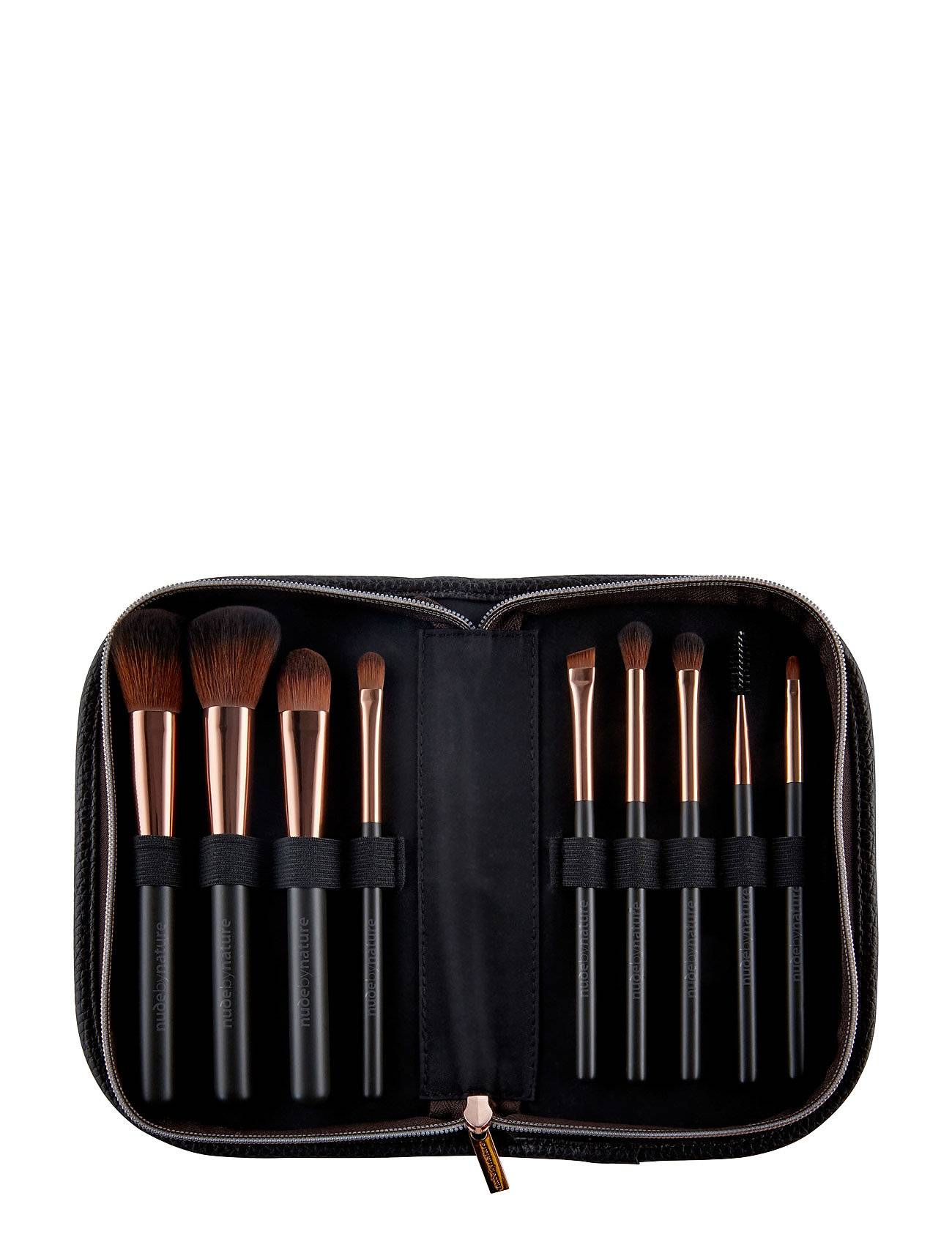 Nude by Nature Brushes Ultimate Coll Prof Brush Set Beauty WOMEN Makeup Makeup Brushes Brush Set Nude Nude By Nature