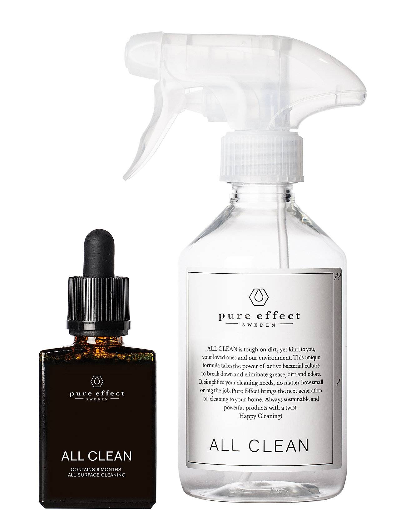 Pure All Clean Starter Kit Beauty WOMEN Home Cleaning Products Nude Pure Effect