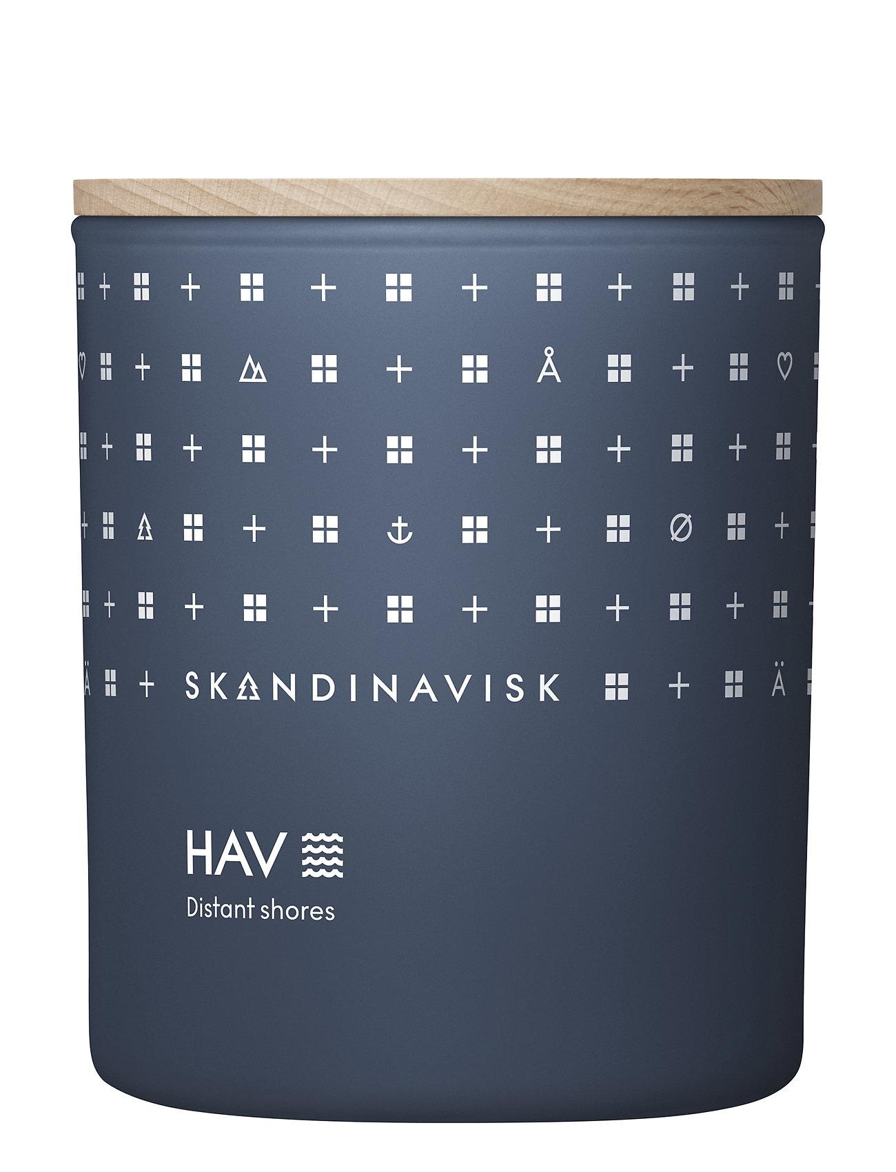 Skandinavisk Hav Scented Candle With Lid 200g Tuoksukynttilä Nude Skandinavisk