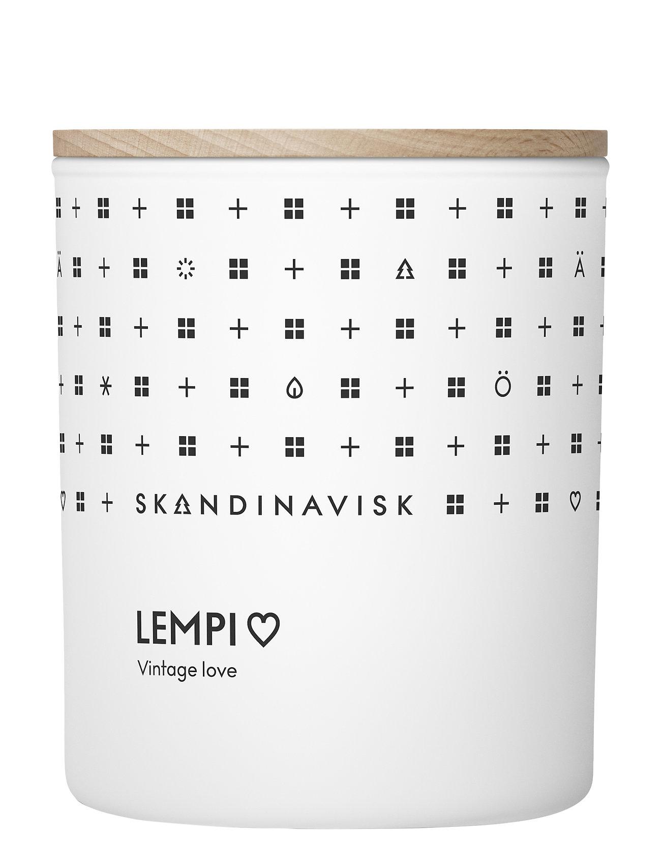 Skandinavisk Lempi Scented Candle With Lid 200g Tuoksukynttilä Nude Skandinavisk