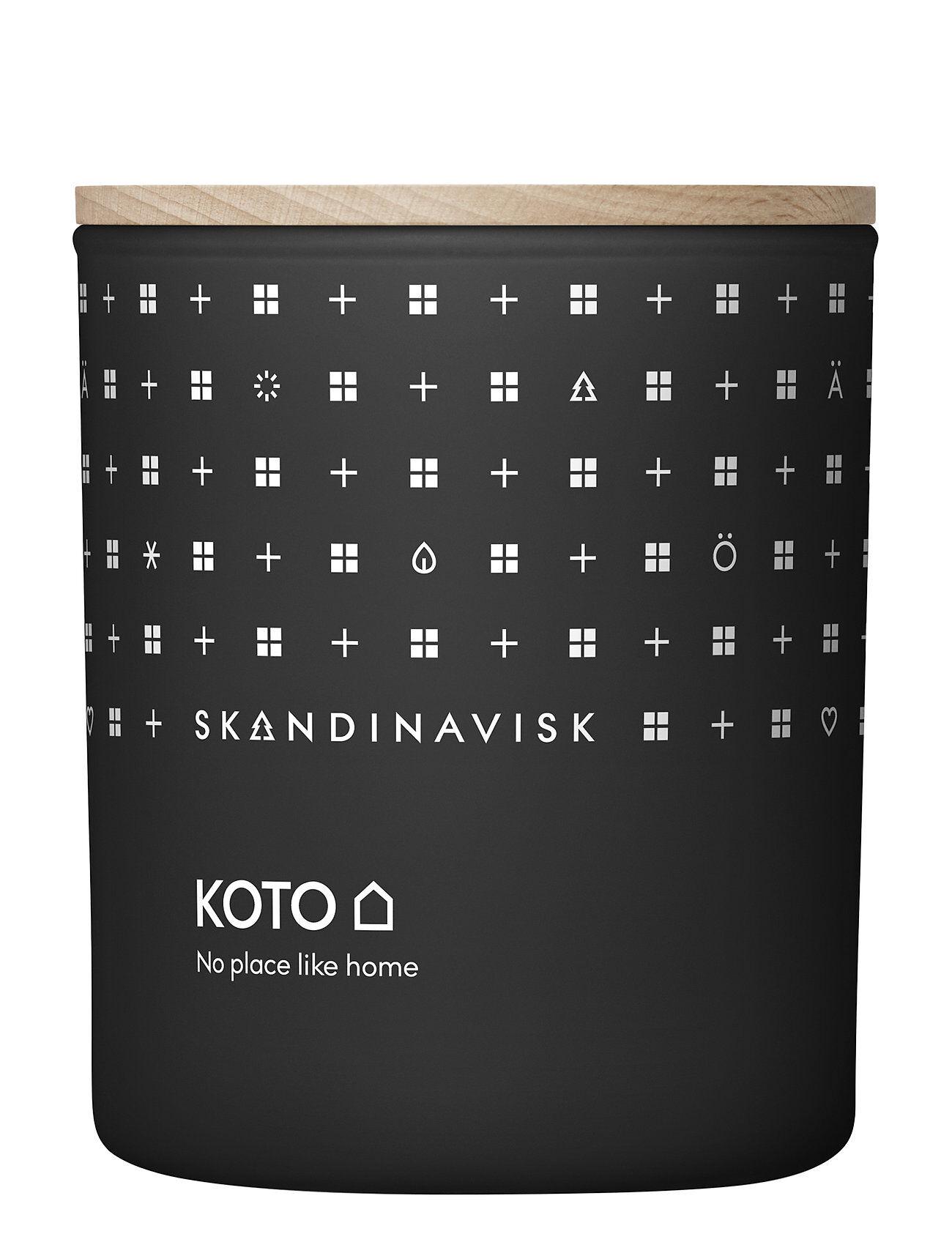 Skandinavisk Koto Scented Candle With Lid 200g Tuoksukynttilä Nude Skandinavisk