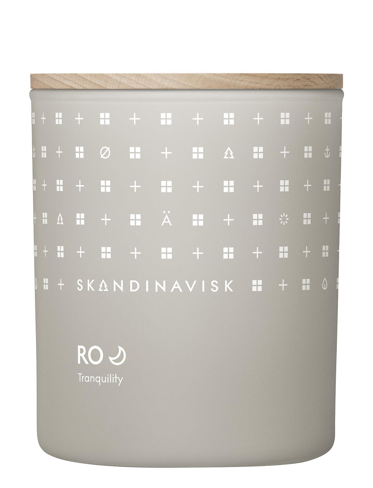 Skandinavisk Ro Scented Candle With Lid 200g Tuoksukynttilä Nude Skandinavisk