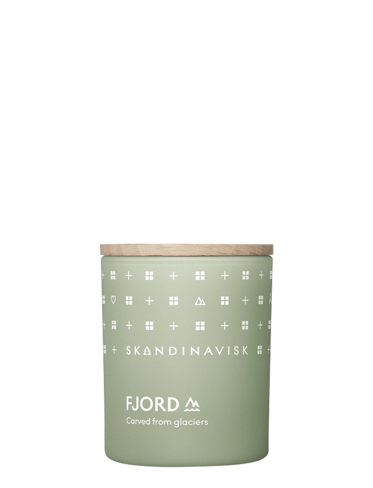 Skandinavisk Fjord Scented Candle With Lid 65g Tuoksukynttilä Nude Skandinavisk