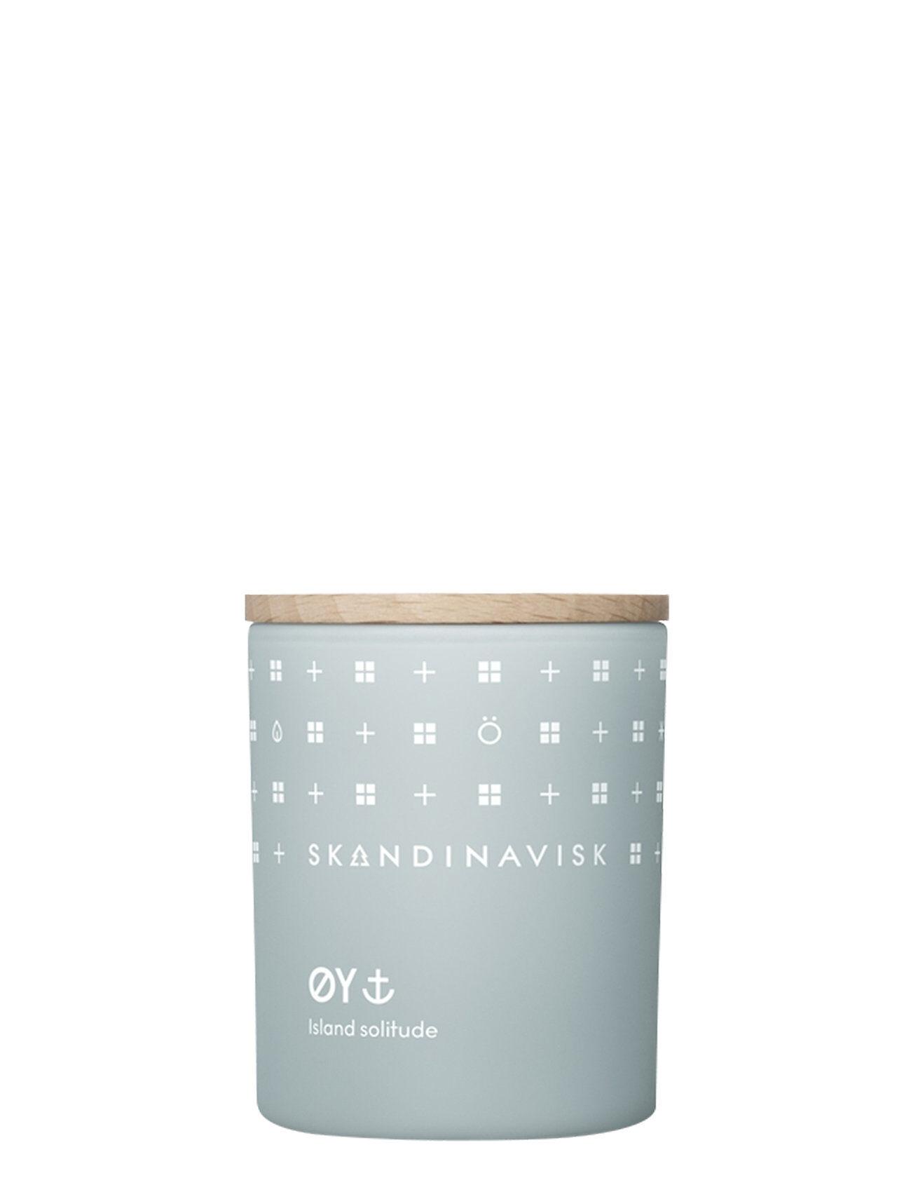 Skandinavisk ØY Scented Candle With Lid 65g Tuoksukynttilä Nude Skandinavisk