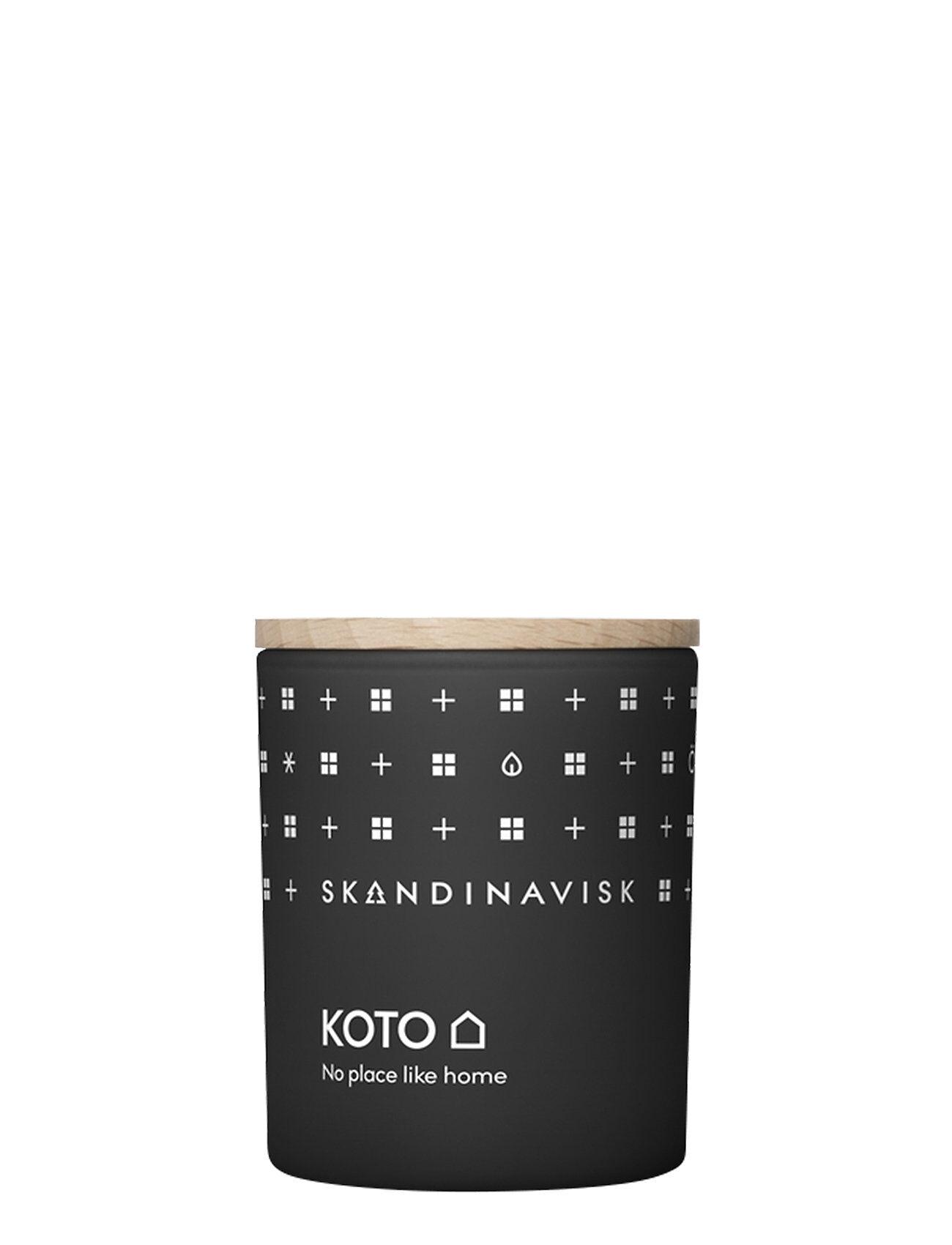 Skandinavisk Koto Scented Candle With Lid 65g Tuoksukynttilä Nude Skandinavisk