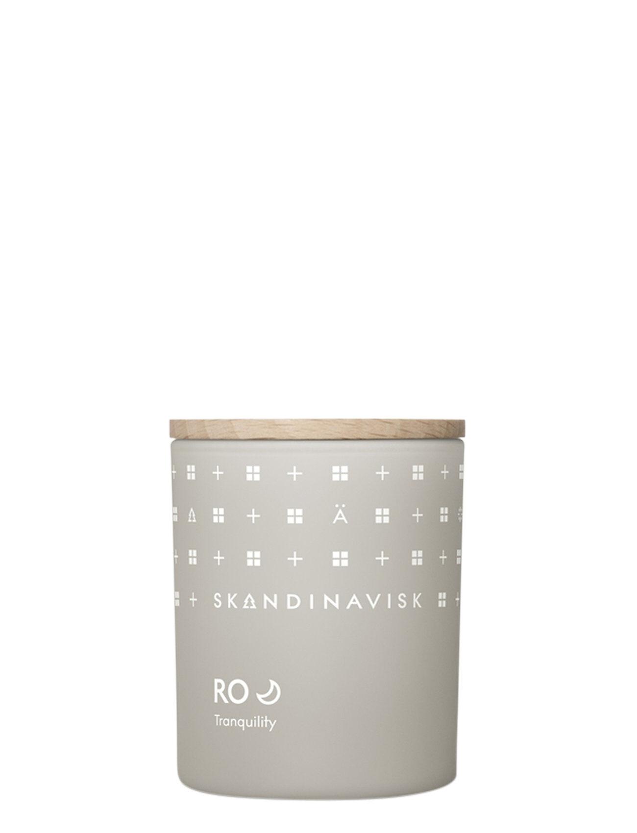 Skandinavisk Ro Scented Candle With Lid 65g Tuoksukynttilä Nude Skandinavisk
