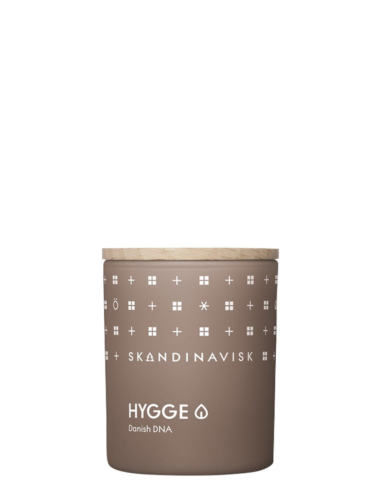 Skandinavisk Hygge Scented Candle With Lid 65g Tuoksukynttilä Nude Skandinavisk