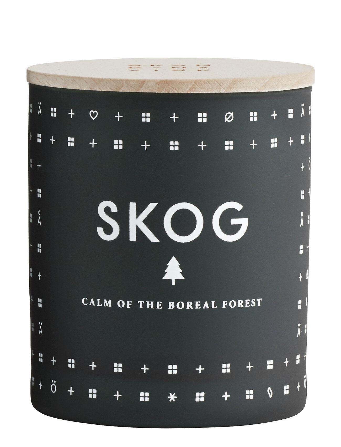 Skandinavisk Skog Scented Candle Tuoksukynttilä Vihreä Skandinavisk