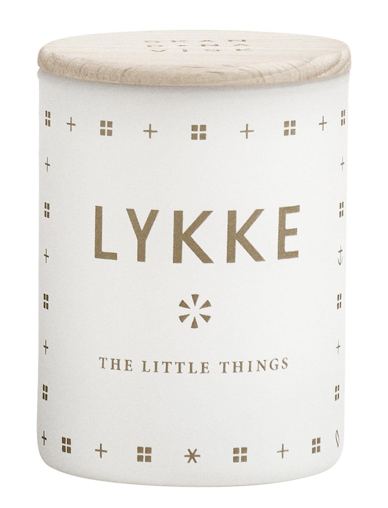 Skandinavisk Lykke Mini Scented Candle Tuoksukynttilä Valkoinen Skandinavisk