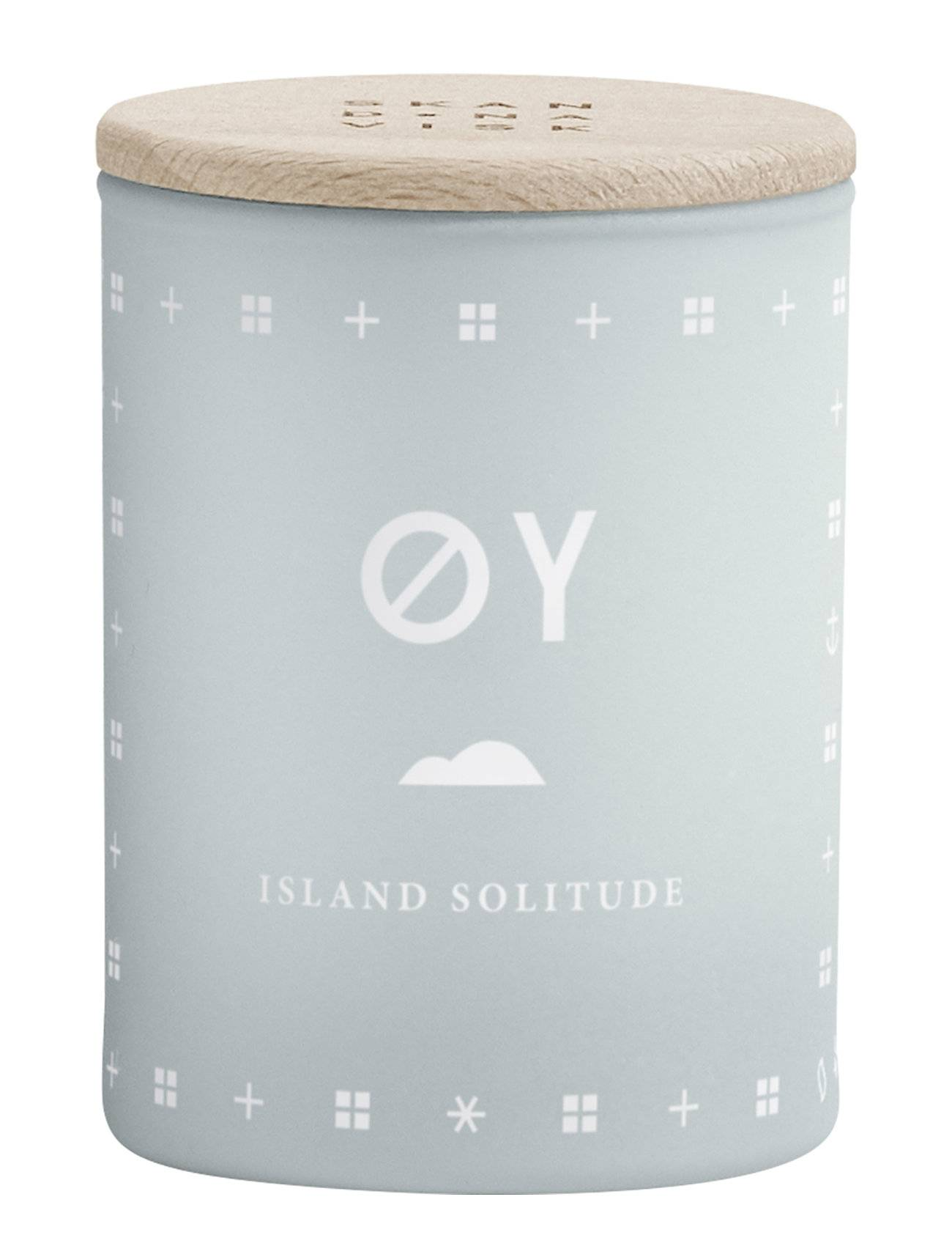 Skandinavisk ØY Mini Scented Candle Tuoksukynttilä Sininen Skandinavisk