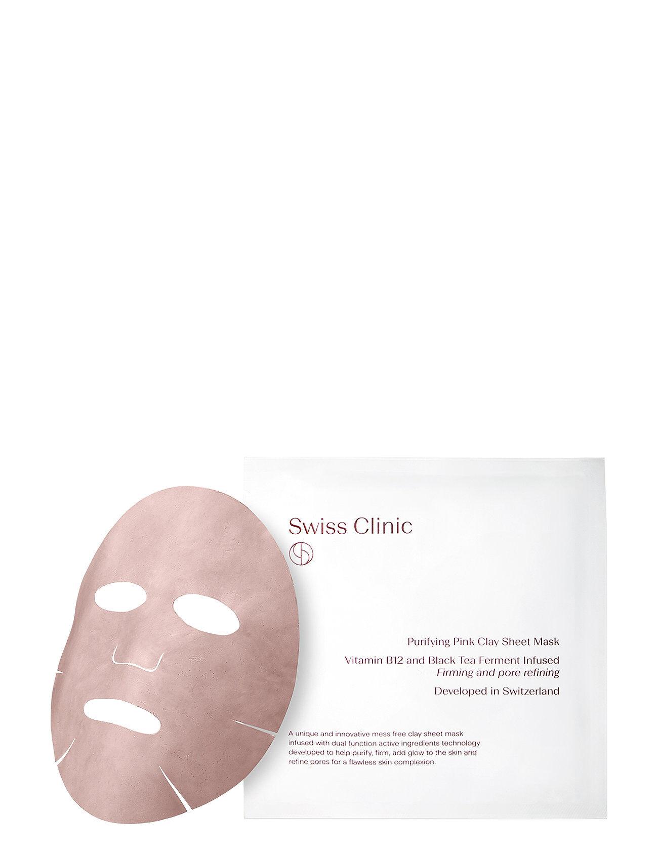 Swiss Clinic Purifying Pink Clay Mask Kasvojen Ihonhoito Nude Swiss Clinic