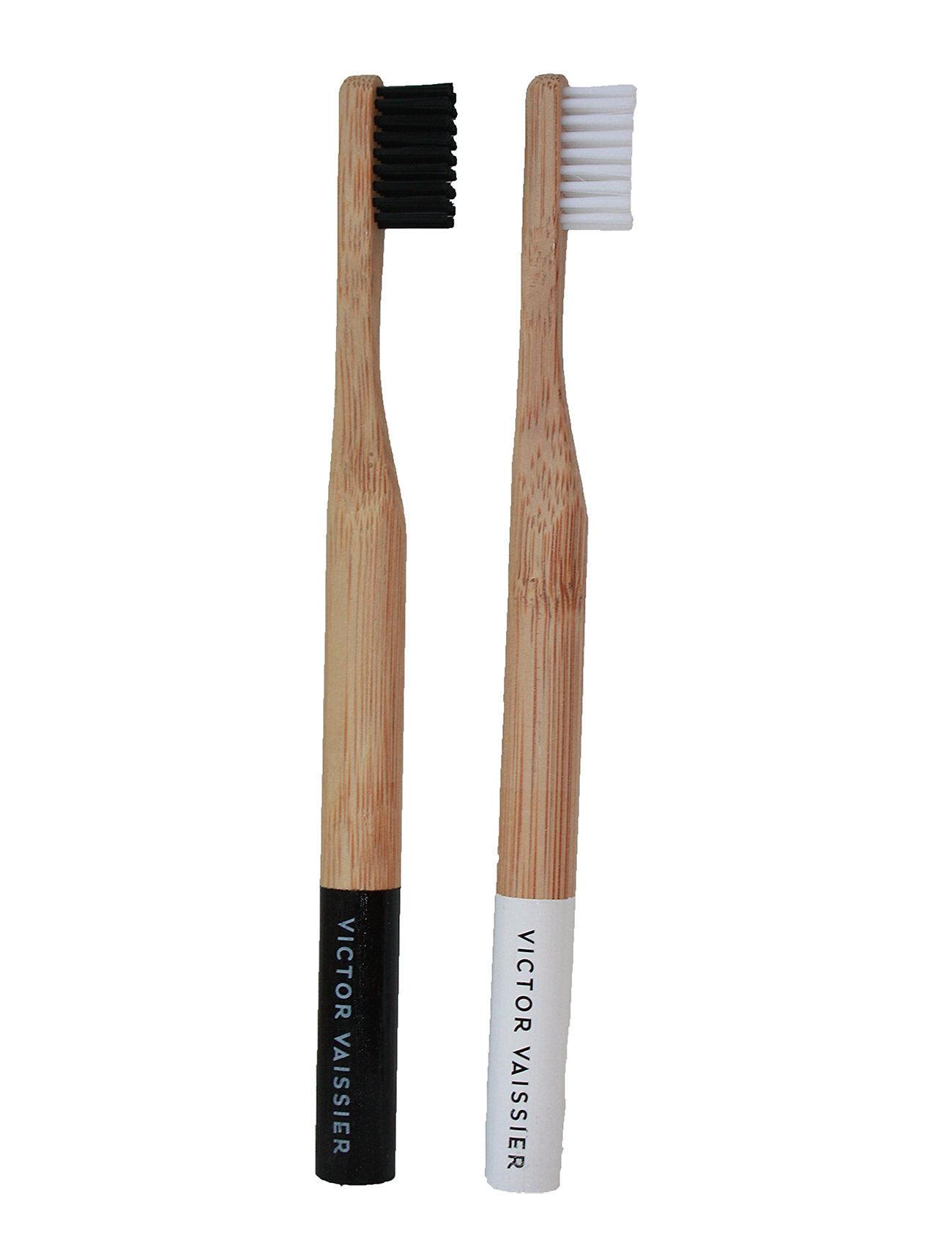 Victor Vaissier 2-Pack Bamboo Toothbrush Sisustus Ruskea Victor Vaissier