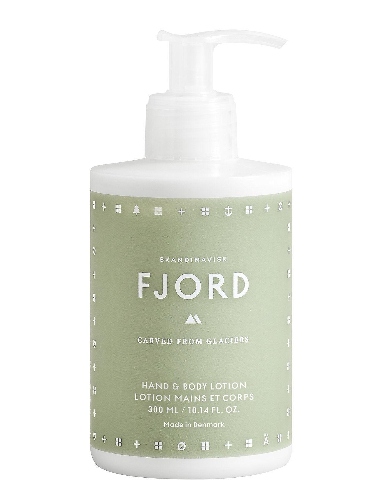 Skandinavisk Fjord Hand & Body Lotion Beauty WOMEN Skin Care Body Hand Cream & Foot Cream Vihreä Skandinavisk