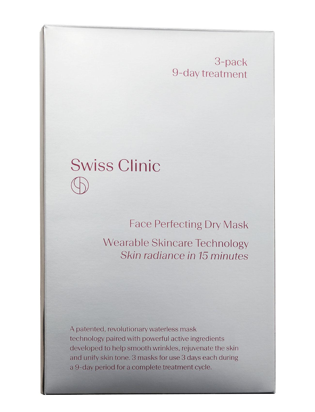 Swiss Clinic Face Dry Mask Treatment Beauty WOMEN Skin Care Face Sheet Mask Nude Swiss Clinic