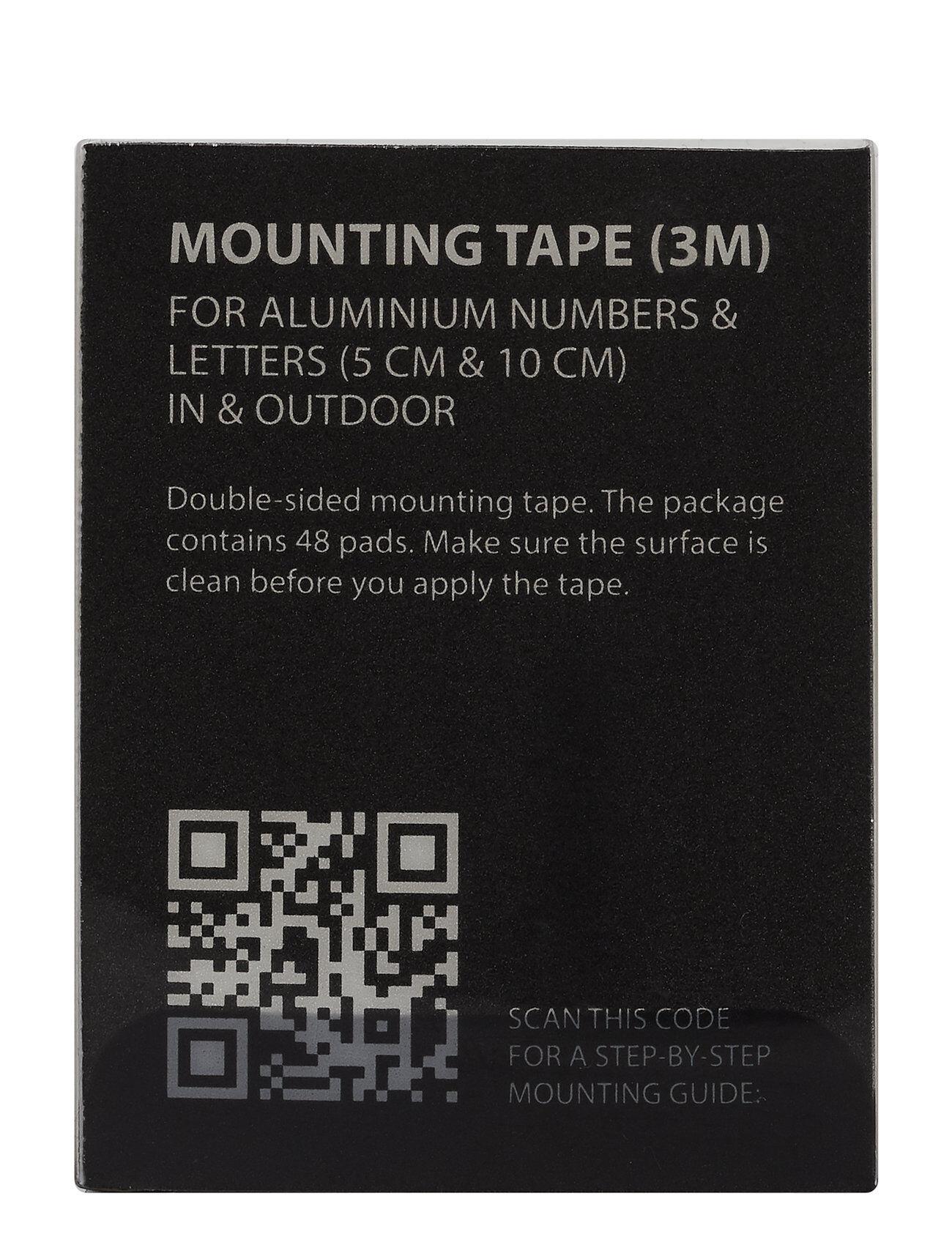 Design Letters Mounting Tape Kodin Sisustus Musta Design Letters