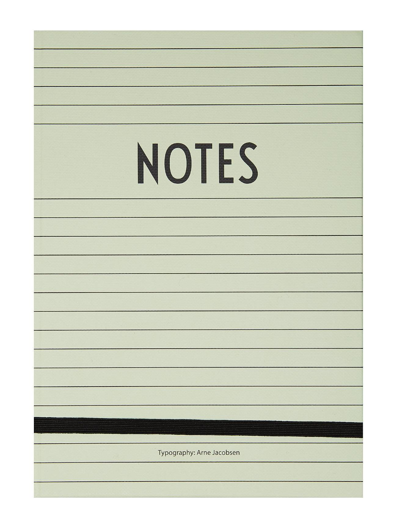Design Letters Notes Book Kodin Sisustus Vihreä Design Letters