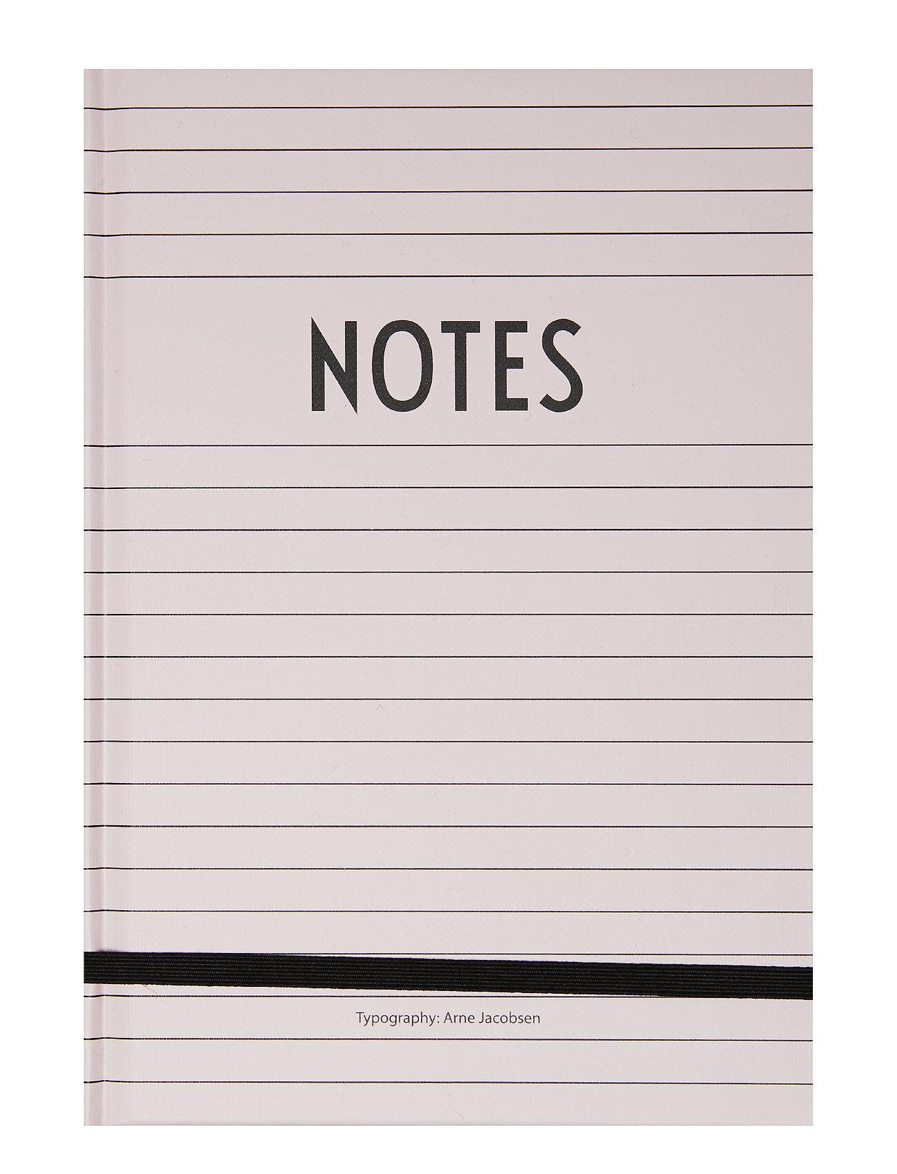 Design Letters Notes Book Kodin Sisustus Vaaleanpunainen Design Letters