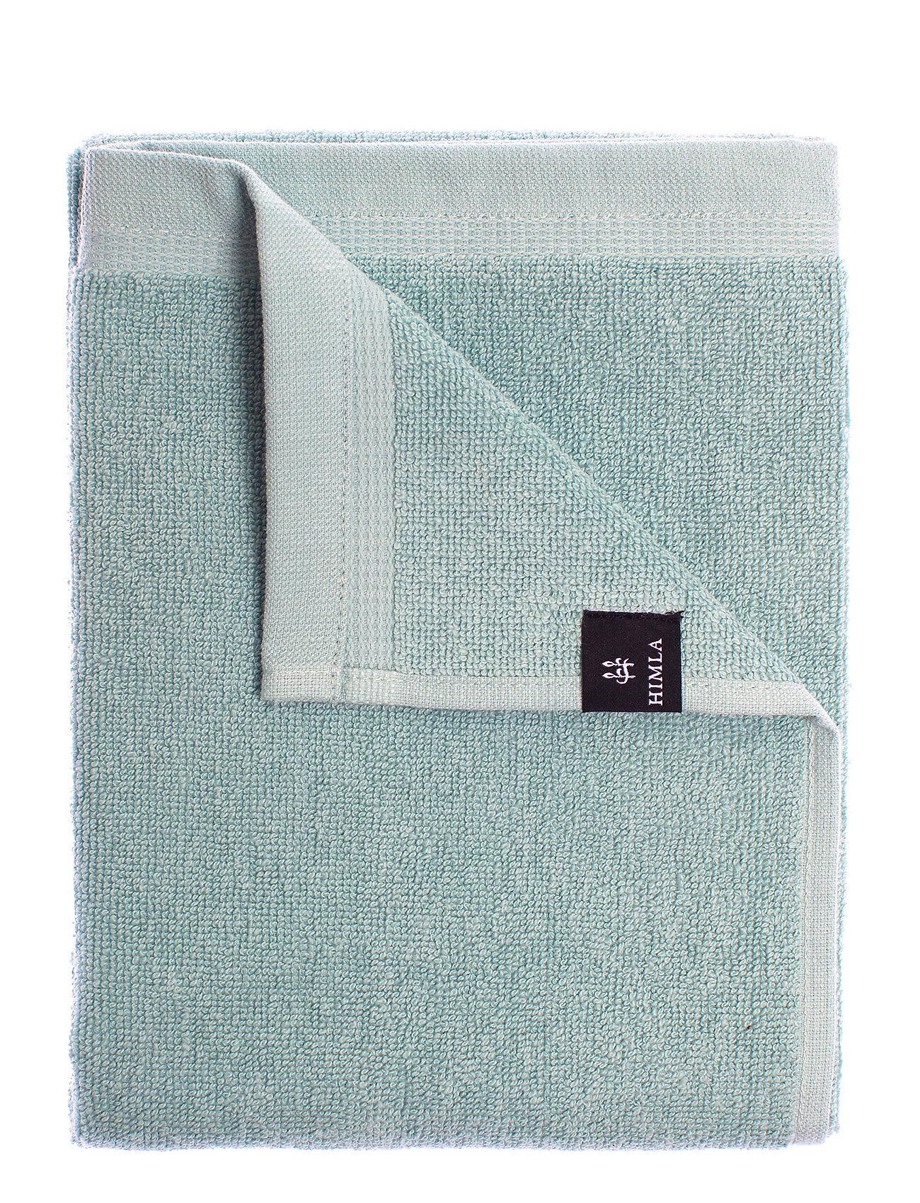 Himla Lina Towel Home Bathroom Towels Vihreä Himla