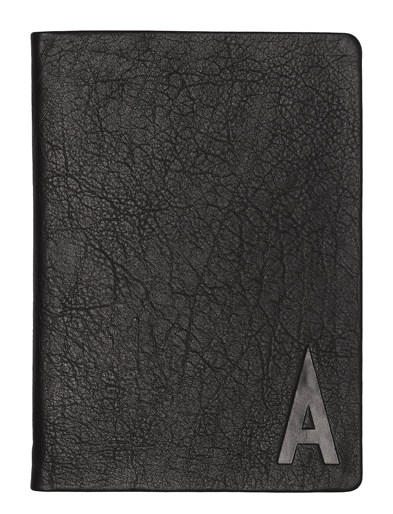Design Letters Suit Up - Personal Notebook Kodin Sisustus Musta Design Letters