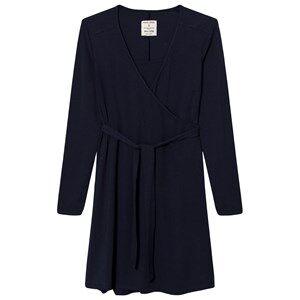 Mom2Mom o2o Wrap Dress Navy Nursing dresses
