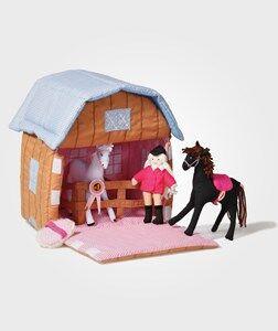 oskar&ellen; Unisex Role play Multi Pony Stable