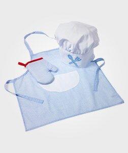 oskar&ellen; Unisex Costumes Blue Chef Set