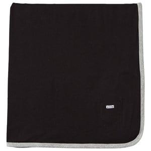 Image of eBBe Kids Unisex Textile Black Baby Blanket Black