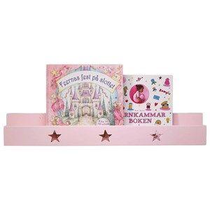 Kids Concept Unisex Furniture Pink Book Shelf Star Pink