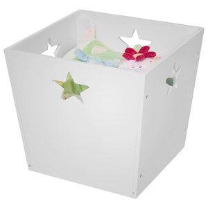 Kids Concept Unisex Storage White Storage Box Star White