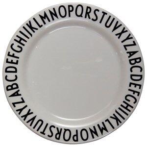 Design Letters Unisex Norway Assort Tableware White Melamine Plate